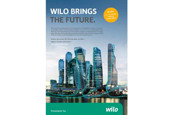 Wilo: Systemlösungen für vernetze Lebenswelten von morgen