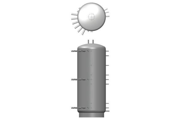 Die Graphik zeigt eine Energiezentrale