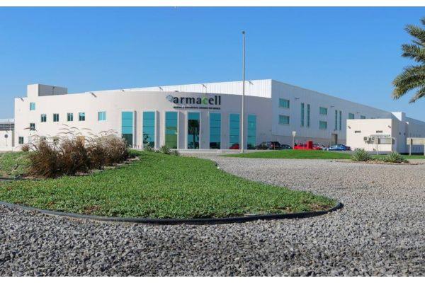Das Bild zeigt das neue Werk in Bahrain.