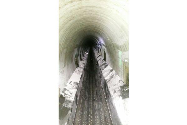 Ein Abwasserkanal.