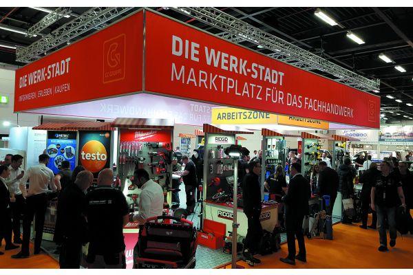 Neulich in Hamburg: Welche Bedeutung der Fachgroßhandel im Allgemeinen und die GC-Gruppe im Besonderen hat, zeigte sich einmal mehr beim Auftritt auf der Regionalfachmesse GET Nord Ende vergangenen Jahres.