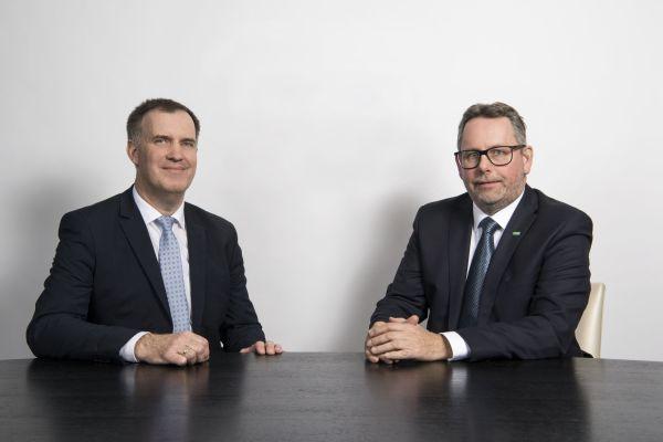 Das Bild zeigt Oliver Herrmann und Andreas Bauer.