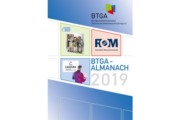 Das Cover des BTGA-Almanach 2019.