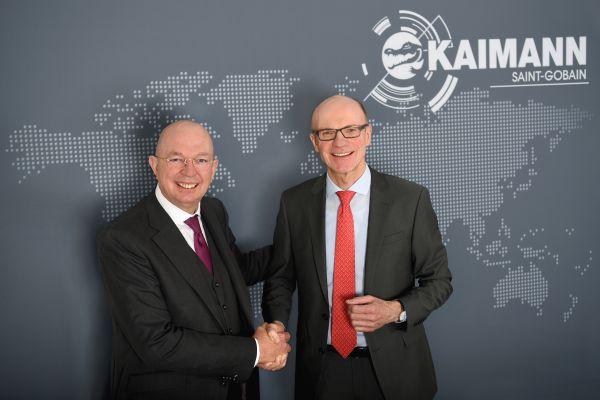 Jürgen Kaimann und Dr. Burkhard Schmolck.