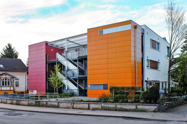 """Ein gelungenes Beispiel für das gemeinschaftliche Wohnen ist das Projekt """"Buntes Haus"""" aus Bad Salzuflen."""