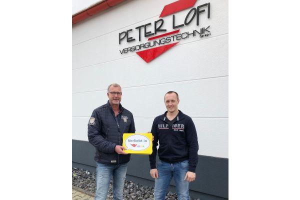 Das Bild zeigt Peter Lofi und Matthias Neuking.
