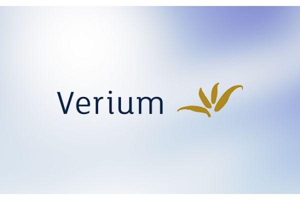 Logo von Verium.