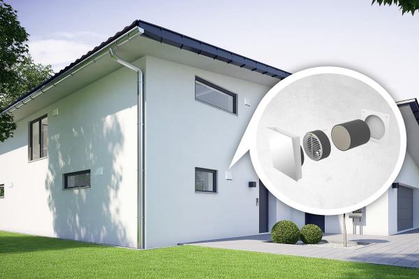 Breites Spektrum an neuen Lüftungslösungen für Wohn- und Objektbau