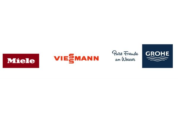 Das Bild zeigt die Logos der Unternehmen.