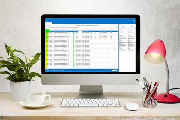 Neue KI-Funktion in Handwerkersoftware - pds integriert intelligente Zuordnung