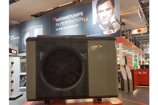 Luft/Wasser-Wärmepumpe CHA-Monoblock