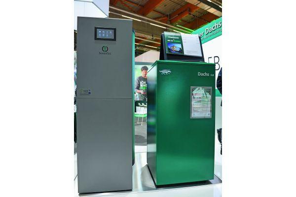 Brennstoffzellen-Heizgeräte Dachs 0.8
