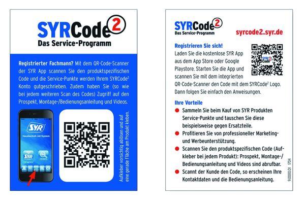 """Eine wesentliche Hürde für """"Smart Home""""-Funktionen ist die Systemintegration der Installationskomponenten. Über den QR-Code hat SYR diese Barriere für den Fachhandwerker gewissermaßen auf Null gesetzt."""