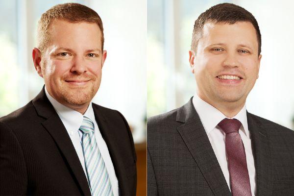 Das Bild zeigt Martin Preuß und Torsten Kaspritzki.