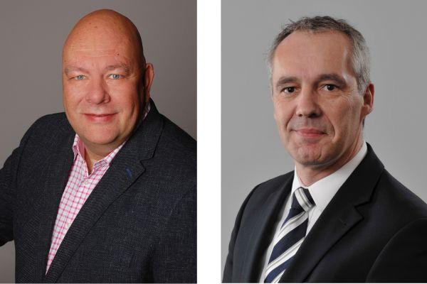 Das Bild zeigt Axel Echtermeyer und Markus Friedrichs.