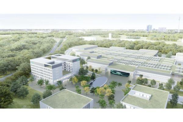 """Der Wilo Campus mit dem zentralen """"Wiloop""""."""