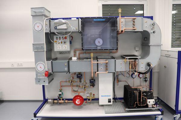 Eine Laborklimaanlage.