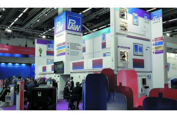 Es gab ein Leitthema, auf der Weltleitmesse ISH und ihren Ausstellern, hier PAW – und das war ohne Zweifel Konnektivität, was bei den PAW-Kunden hervorragend ankam.
