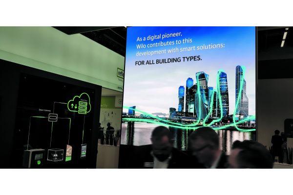 Die Zukunft ist vernetzt – mit Wilo als Unterstützer beispielsweise in den Städten; durch entsprechende Produkte genauso wie umfassende Services.