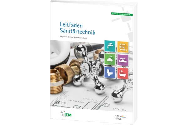 Cover des Buches Leitfaden Sanitärtechnik.
