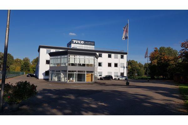 Das Bild zeigt das Firmengebäude der Klaus Schlenker GmbH.