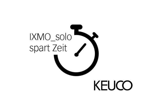 """Eine Stunde Zeitersparnis mit """"IXMO_solo"""""""