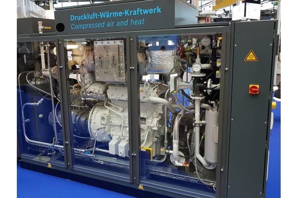 Druckluft- Wärme-Kraftwerk CHP CA 570 NA.