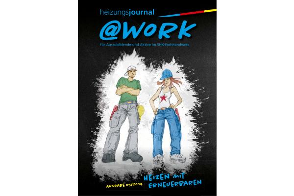"""Neu: @work zum Thema """"Heizen mit Erneuerbaren"""""""