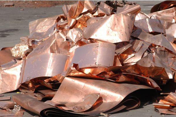 Europas stetig wachsender Bedarf an Kupfer wird zunehmend durch Recycling gedeckt.