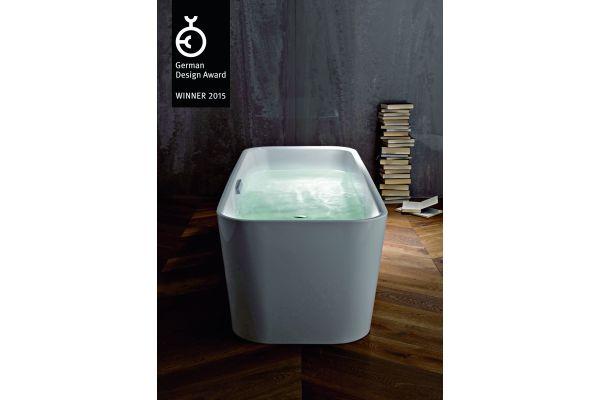 Das Bild zeigt die Badewanne