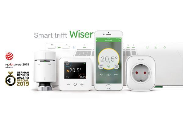 Die Komponenten des Smart Heating System