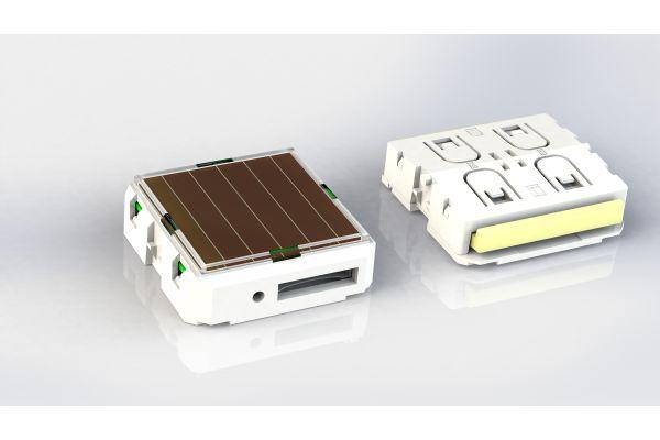 Zwei PTM-Schaltermodule.