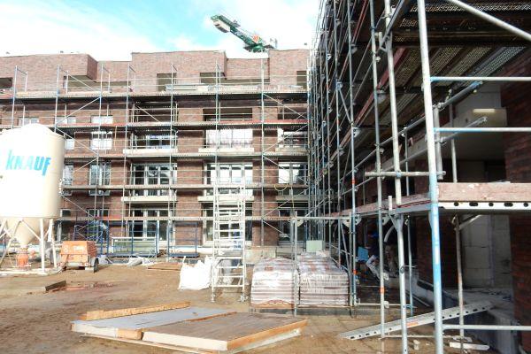 Wohnpark Quickborn während der Bauphase.