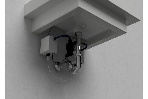 """Das Bild zeigt die Spülstation """"HygBox""""."""