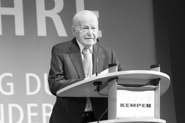 Herbert Kemper verstorben