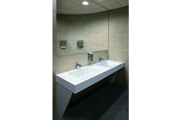 Clevere Lösungen für öffentliche Waschräume