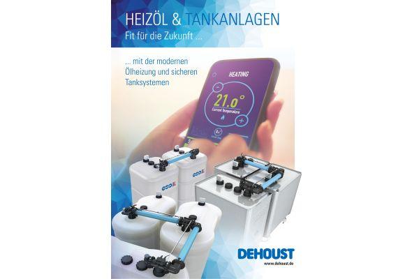Cover der neuen Dehoust Broschüre.