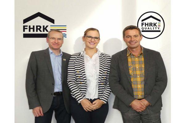 Das BIld zeigt den neuen FHRK-Vorstand.