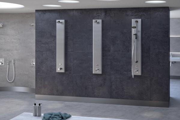 """""""CONTI+ CONGENIAL"""": Geniales Konzept für Duschen, Wandarmaturen und Reihenwaschplätze"""