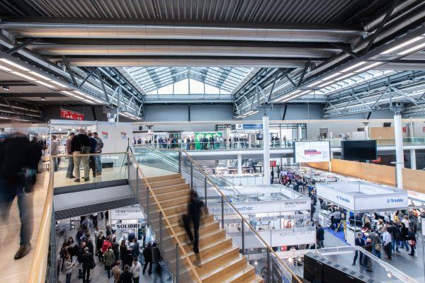 Ausstellungsfläche der BIM World 2018.