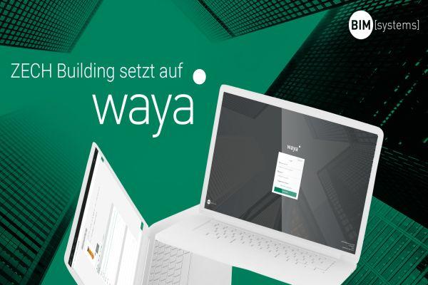 Werbebild für Zech Building und BIMsystems.