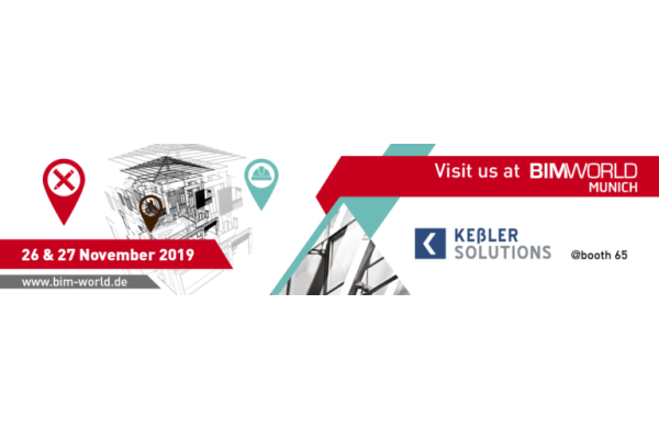 Keßler Solutions und Partner auf der BIM World 2019