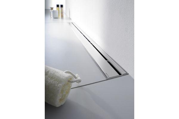 """Das Bild zeigt das  ACO Haustechnik Design-Rost """"Stripe""""."""