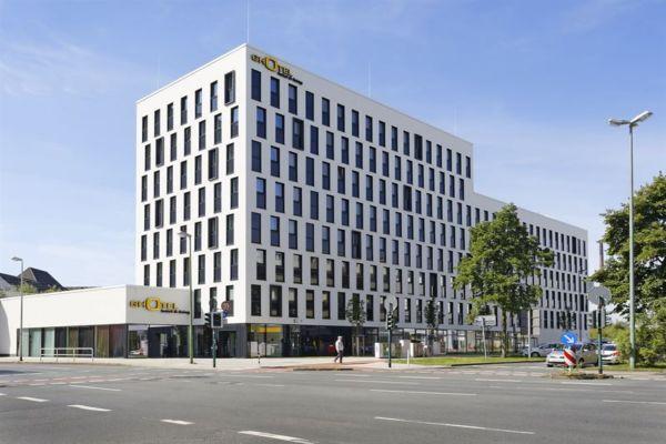 Außenansicht Ghotel in Essen.