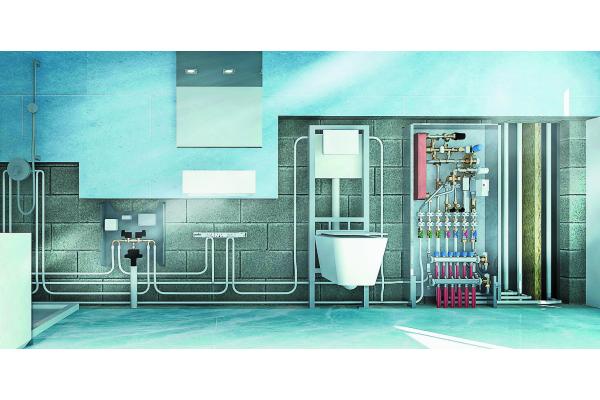 Hygienegerechte und wirtschaftliche Installationen