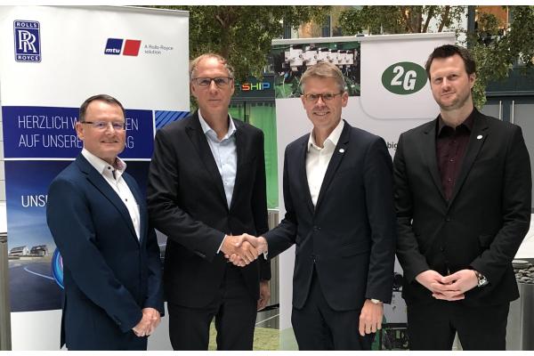 2G und Rolls-Royce kooperieren bei Gas-Stromaggregaten für BHKW