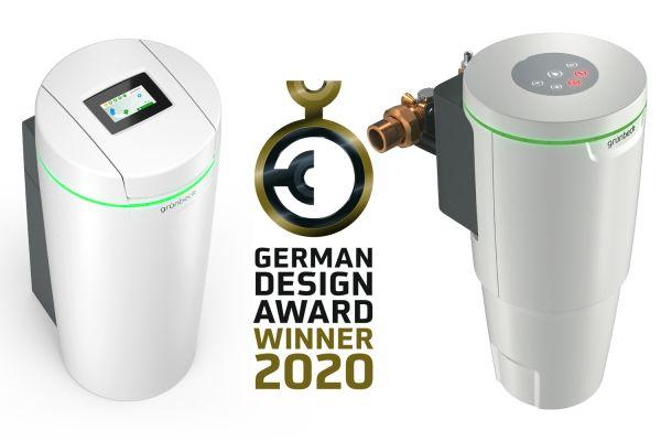 Das Bild zeigt die Gewinner-Produkte von Grünbeck.