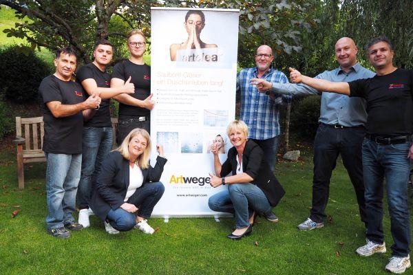 Das Bild zeigt die Mitarbeiter der Firma Zöchling.