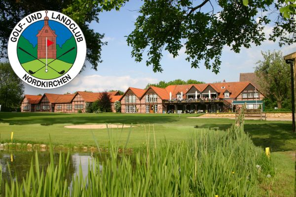 Das Bild zeigt die Golfanlage.