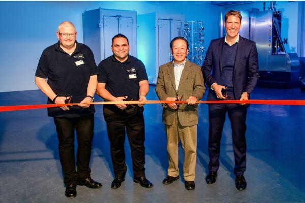 Das Bild zeigt Thomas Fuhr, Ryuichi Kawamoto, Hans-Martin Souchon und  Timo Mai.